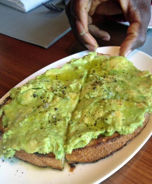 Riverpark's avocado toast